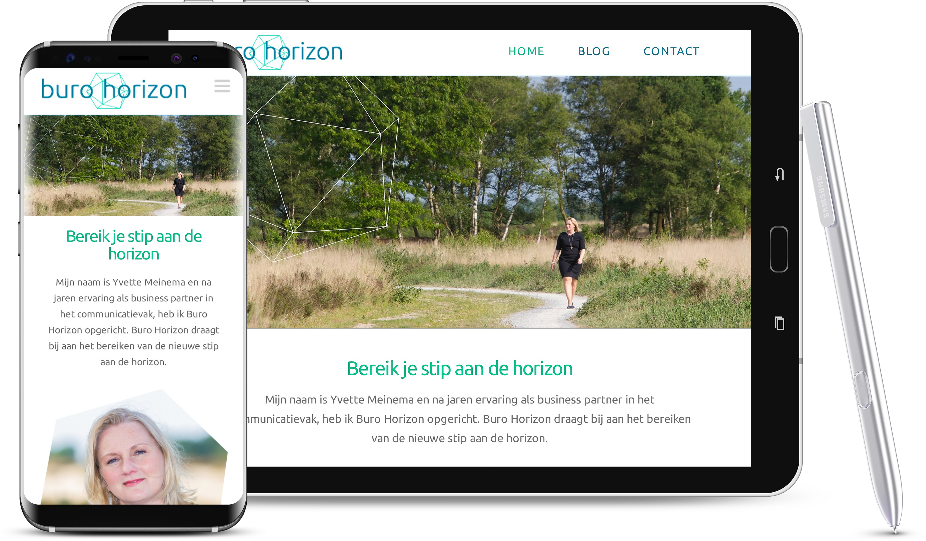 website Buro Horizon