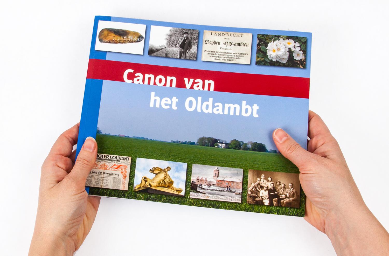Boekontwerp Canon van het Oldambt