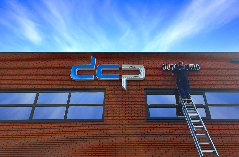 Nieuw logo voor DCP