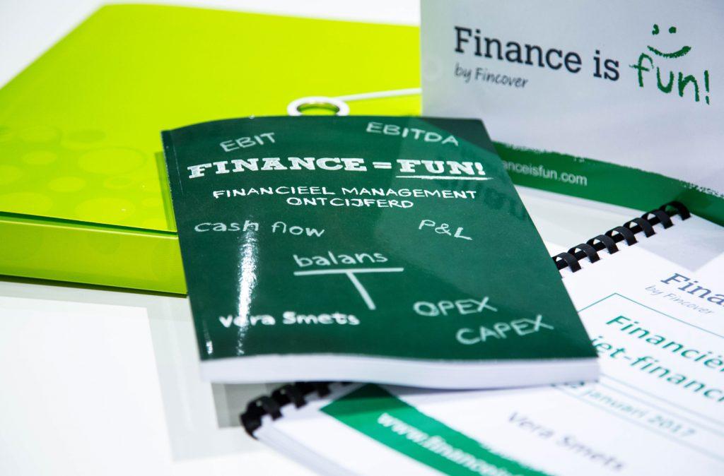 Finance is fun boek