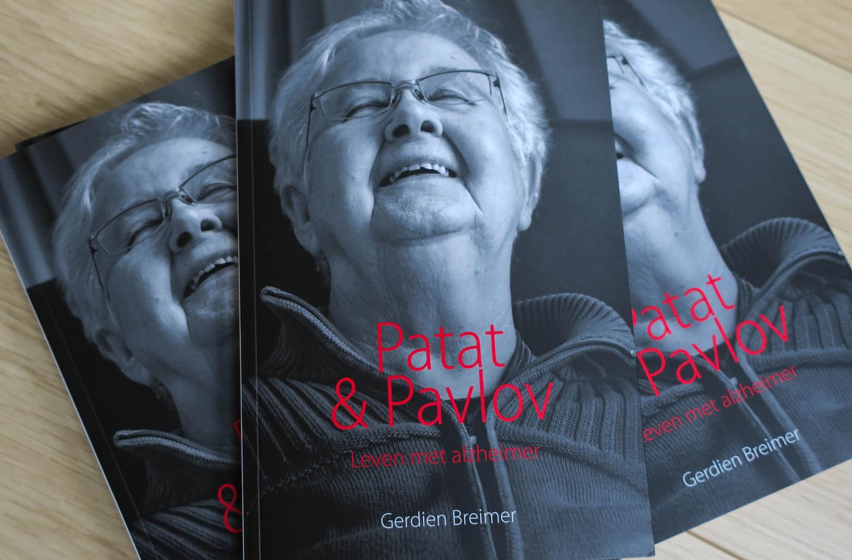 Boekontwerp Patat & Pavlov van Gerdien Breimer