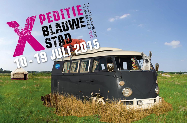 Bijzonder kampeerfestival Xpeditie Blauwestad